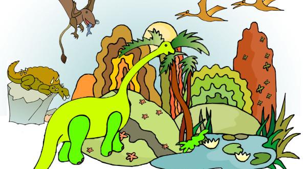 skattjakt dinosaurier