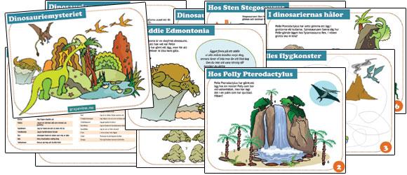 skattjakt dinosauiekalas