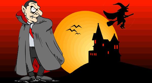 halloweenfest skattjakt