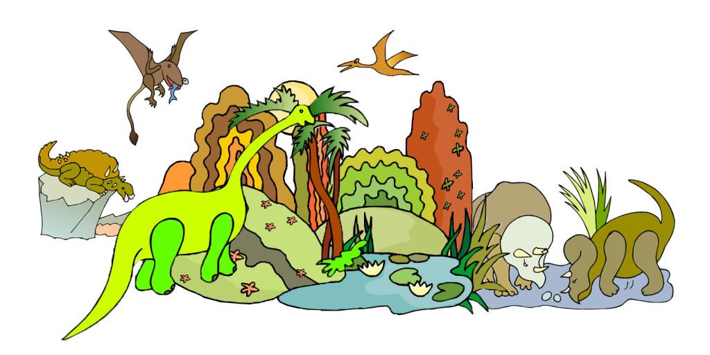 skattjakt dinosaurimysteriet