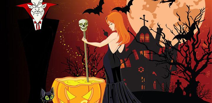halloweenskattjakt